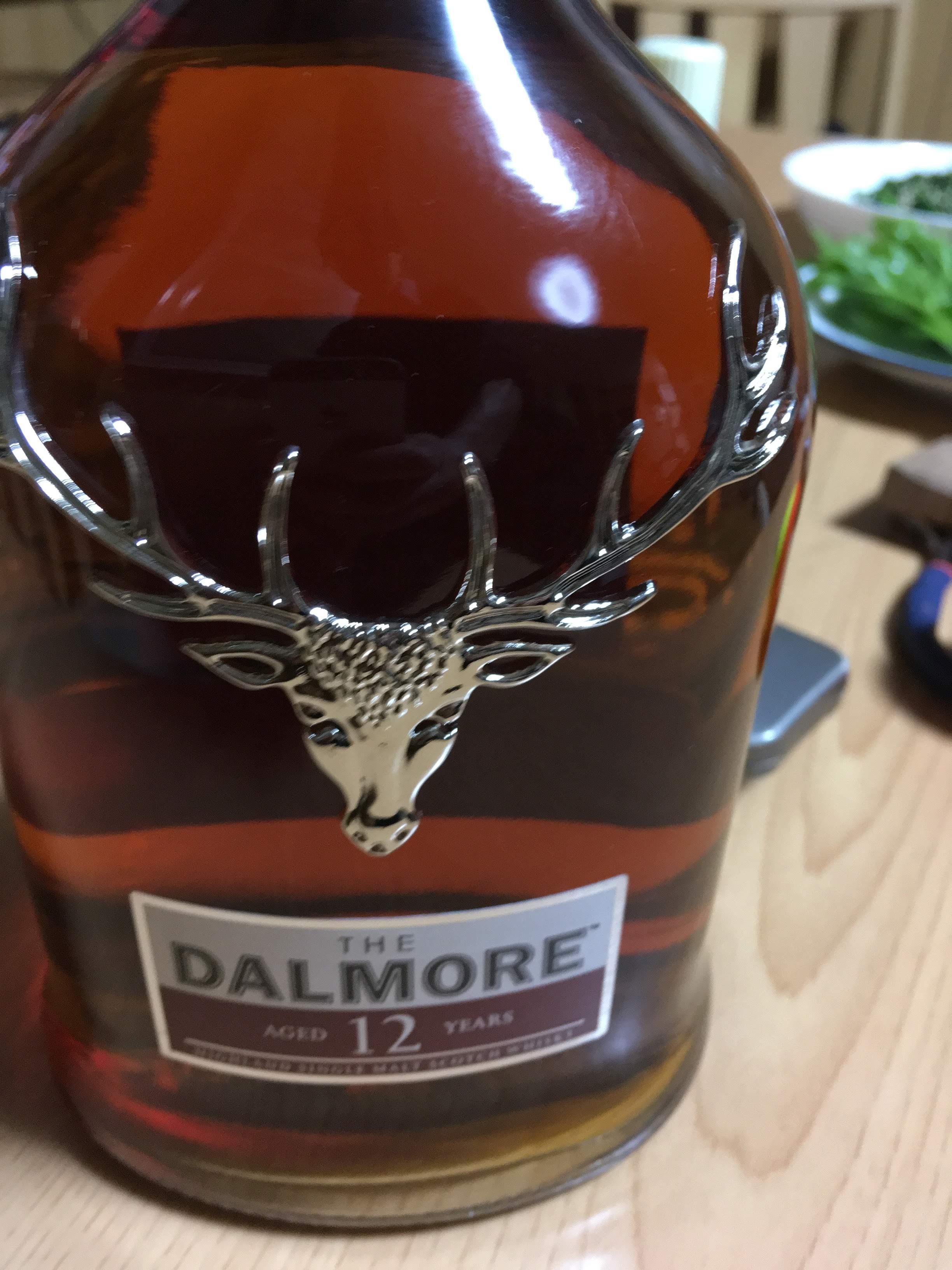 ダルモア12年 シングルモルトウィスキー スコッチ