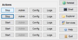 XAMPP Control Panelv3.2.4