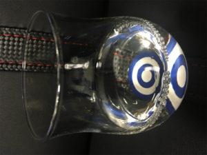 saketaku 専用ぐい呑み (テイスティンググラス)90ml程度入れて、味を楽しむ