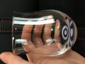さけたく専用グラス、日本酒テイスティンググラス