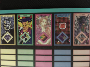 ボードゲーム モダンアート 画家・カードの種類
