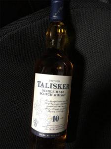 タリスカー10年 ウィスキー ボトル写真