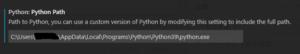 python デフォルトの実行バージョン指定